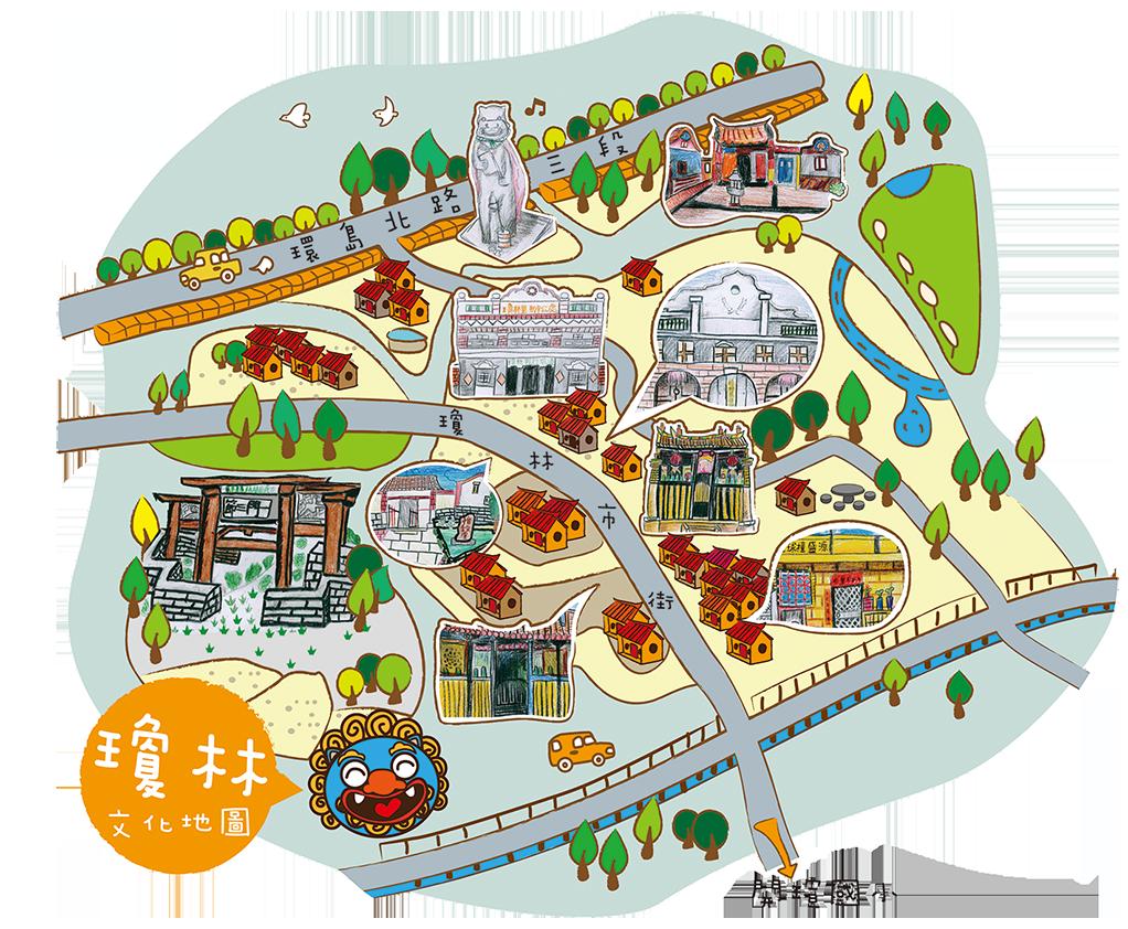 瓊林文化地圖