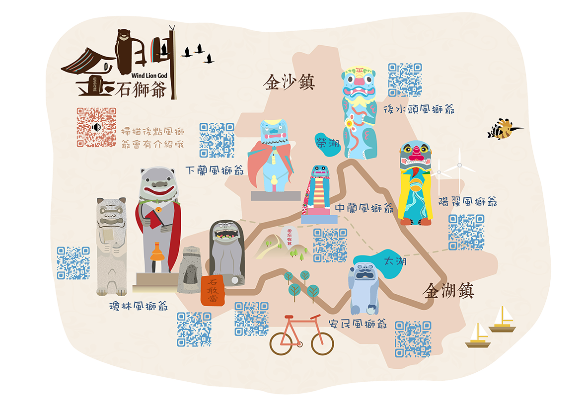 Wind Lion God Bike Map